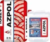 Sement və Akrilik Əsaslı İki Komponentli Su İzolyasiya Qarışığı  (4 barr dözümlü) Azpol Izopolex 100