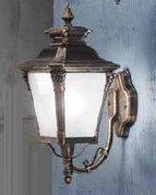 Настенный уличный светильник Orion AL 11-1138/1 Patina/aufwärts