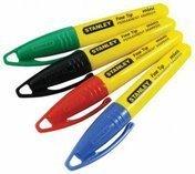 Мини-маркеры Stanley® с заостренным наконечником 1-47-324, 1,2-47-329