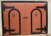 Автоматические железные ворота