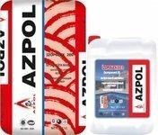 Sement ve Akrilik Əsaslı İki Komponentli Su İzolyasiya Qarışığı  (8 barr dözümlü) Azpol Izopolex 200