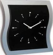 Часы Orion Uhren Wanduhr 13K/WV32 schwarz Strass
