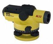 Оптический нивелир Stanley FatMax® AL32 в комплекте с треногой и 5-метровой рейкой 1-77-244, 245