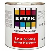 Двухкомпонентный полиуретановый лак-порозаполнитель Betek S.P.U  Sanding Sealer Hardener