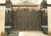 Кованые изделия из металла (ворота) Metalico