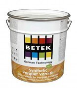 Однокомпонентный модифицированный паркетный лак  Betek Synthetic Parquet Varnish gloss semi gloss matt