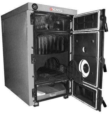 Чугунные твердотопливный котел Rima (Calgoni) MAX-06, MAX-07