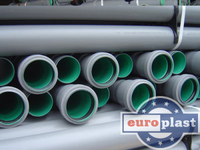 Boru - kanalizasiya 110 Europlast  #2
