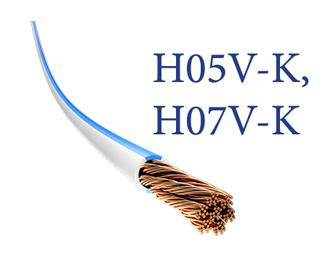 H05V-K, H07V-K naqillər