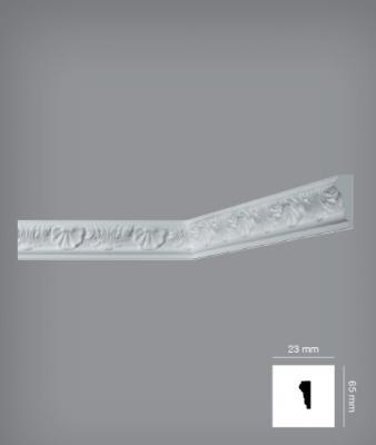 Tavan plintusu Bovellacci Eeurostyl EC3L